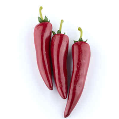 Artificial Red Chili Peppers | Set Of 9 • 9.02£