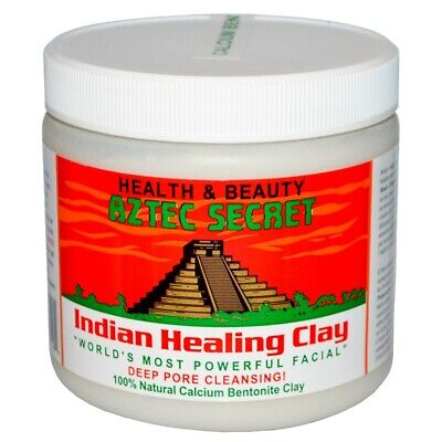 AU19.99 • Buy Aztec Secret, Indian Healing Clay, Deep Pore Cleansing Acne Hair Mask -IN HAND