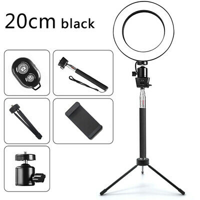 AU29.98 • Buy 8  Ring Light With Stand Dimmable 64LED Lighting Kit For Makeup Youtube Live