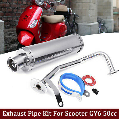 gy6 50cc exhaust