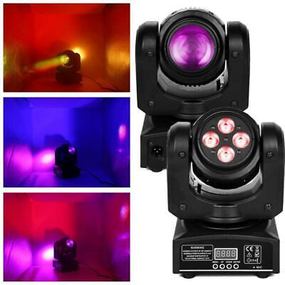 New Moving Head Light RGBW LED 100W DMX512 Double Side DJ XMAS Club Party Lights • 69.99$