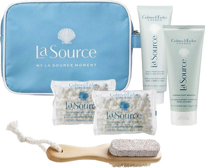 Luxury Brand Crabtree & Evelyn London New La Source 5 Piece Foot Care Gift Set  • 40£