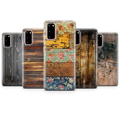 AU18.85 • Buy Wood Texture  Phone Case Cover Fits For Samsung S8 S9 S10 J6 A6 A20/30/50/70,S20