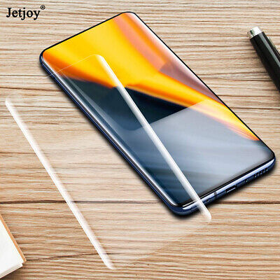 $ CDN4.59 • Buy For Samsung Galaxy S10 Curved Clear UV Tempered Glass Full Film Screen Protector