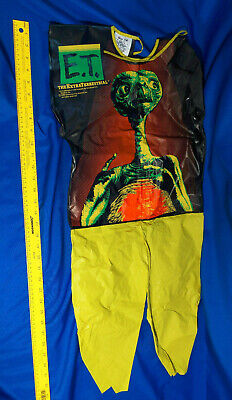$28 • Buy Rare 1982 80s Movie E.T. The Extra Terrestrial Halloween Costume Small