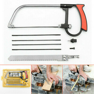 £5.99 • Buy Magic Hacksaws Hand Saws Cutting Metal Wood Glass Plastic + Replacement Blades