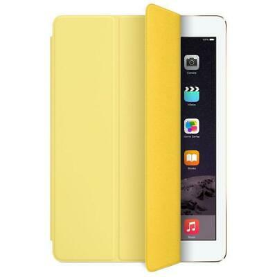 Genuine Apple Smart Cover For IPad Air 1, Air 2, 5th & 6th Gen 9.7  IPad Yellow • 13.99£