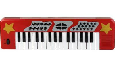 £17.95 • Buy Chad Valley Electronic Keyboard Little Musicians To Hit The Best Notes With Red