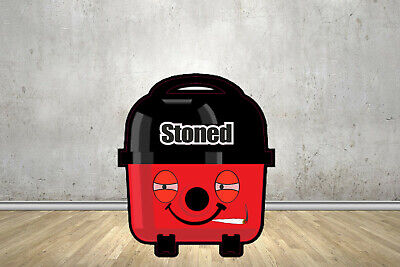 Stoned Face Replacement Stickers Fits Henry Hoover Parts Bags Tools Accessories • 6.99£