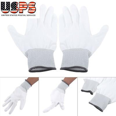 $5.08 • Buy Anti-Static Non-Slip Gloves PU Coated Gloves PC Computer Repair Work Gloves