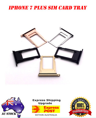 AU4.99 • Buy OEM IPhone 7 Plus Sim Card Tray Holder Slot Replacement