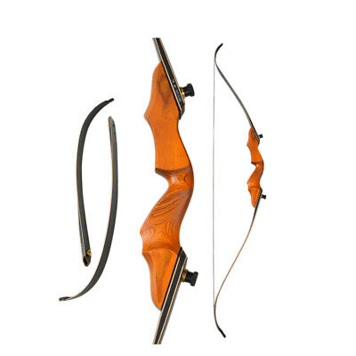 wooden archery long bows