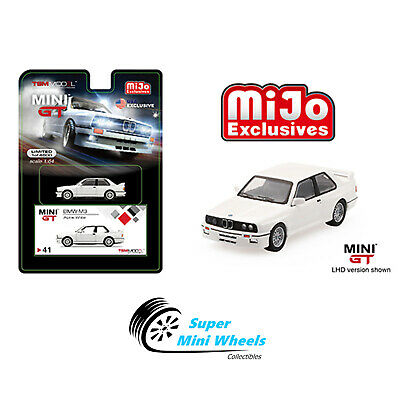 $9.99 • Buy Mini GT BMW M3 E30 (White) LHD Limited Edition 1:64【In Stock】