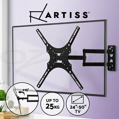 AU22.95 • Buy Artiss TV Wall Mount Monitor Bracket Swivel Tilt 24 32 37 40 42 47 50 Inch LCD