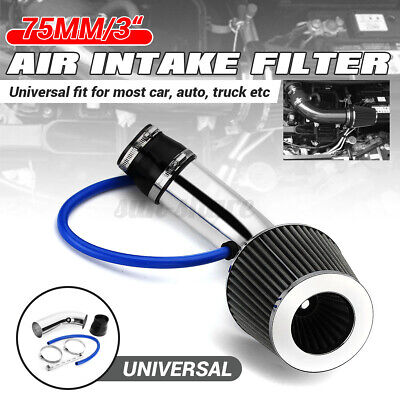 """RED 6 Inches 6/"""" 152mm Inlet Cold Air Intake Cone Long TRUCK FILTER For Buick"""