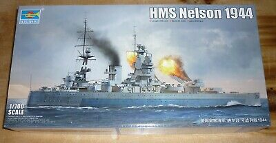 £39.29 • Buy Trumpeter 1/700 Scale HMS Nelson 1944 Ship Kit