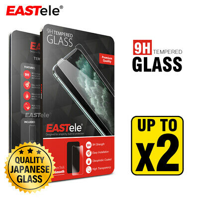 AU8.95 • Buy EASTele For Apple IPhone 12 11 Pro Max XS Max XR Tempered Glass Screen Protector