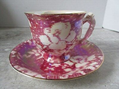 $ CDN13.70 • Buy Old Vintage Royal Winton Grimwades Red Lustre Chintz Cup & Saucer