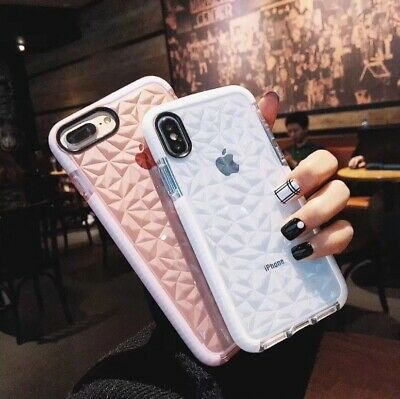 AU7.71 • Buy Case Clear Diamond Cute Shockproof Soft Cover For Apple IPhone 6 6S 7 8 Plus