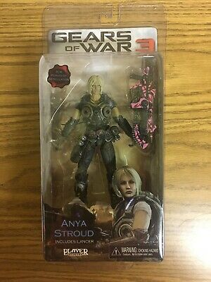 $89.99 • Buy Gears Of War 3 Anya Stroud  -7  Inch Figure 30+ Points Articulation Pink Lancer