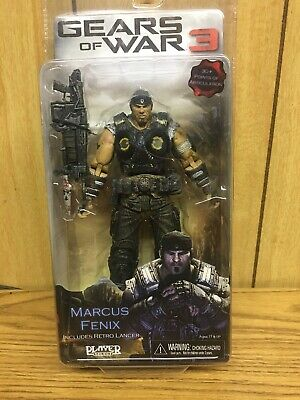 $42.99 • Buy Gears Of War 3  Marcus Fenix  W/Retro Lancer (New) 30+ Points Of Articulation