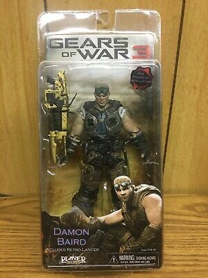 $79.99 • Buy Damon Baird- Gears Of War 3 -7  In. 30+ Points Articulation (Gold Retro Lancer)