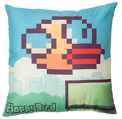 £6.48 • Buy NEW FLAPPY BIRDS PIPES 40CM X 40CM SQUARE CUSHION GIRLS BOY BEDROOM ACCESSORIES