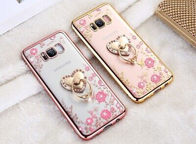 $ CDN10.07 • Buy Glitter Bling Soft TPU Silicone Cover Case For Samsung S7 Edge S8 S9 Plus Note 8