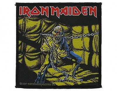 £3.95 • Buy IRON MAIDEN Piece Of Mind 2011 - WOVEN SEW ON PATCH Official (sealed)