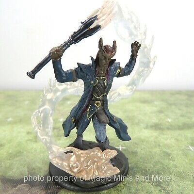 $ CDN9.90 • Buy D&D Premium Miniatures ~ TIEFLING SORCERER MALE Icons Of The Realms Miniature