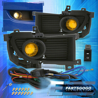$44.99 • Buy For 04-06 Mitsubishi Lancer Yellow Lens Fog Lights Driving Lamps Replacement Kit