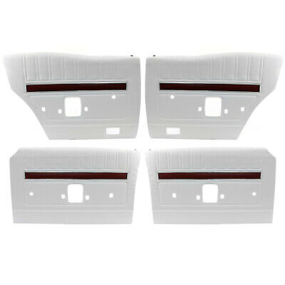 AU399 • Buy Ford XY GT Falcon White Door Panel Trim Set Of 4