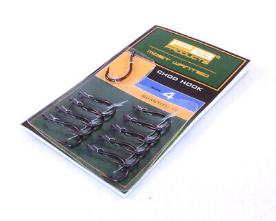 PB Products Chod Hook DBF *All Sizes* NEW Carp Fishing Barbed Hooks • 5.69£