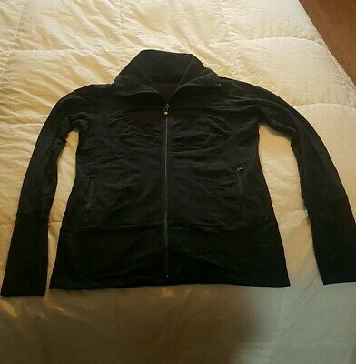 $ CDN60 • Buy NWOT Rare Black Long Lululemon Lulon Jacket 8 10