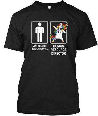 $18.99 • Buy Human Resource Director - Ceo Manager Doctor Engineer Hanes Tagless Tee T-Shirt