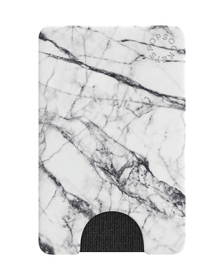 AU34.95 • Buy White Marble PopWallet - PopSockets® Genuine Product Phone Grip