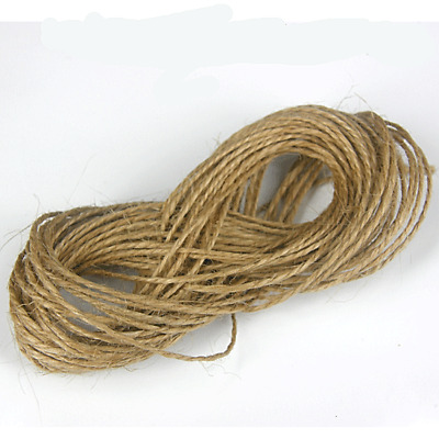 10m Metre Natural Brown Rustic Style Twine String Craft Jute Shabby Cord • 1.65£