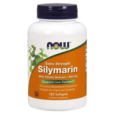 $20.68 • Buy Now Foods Silymarin Milk Thistle 450Mg 120 Softgels Made In USA FREE SHIPPING