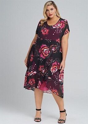 AU19.99 • Buy Ts  Taking Shape Dress Size 16 Spring It On Four Weddings And A Print Style NWT