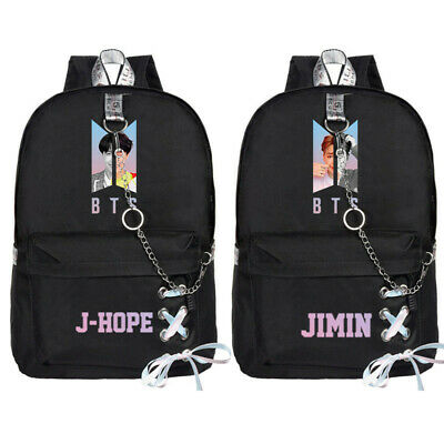 $19.95 • Buy BTS Bangtan Boys Backpack Student Casual Travel Bookbag School Shoulder Bag
