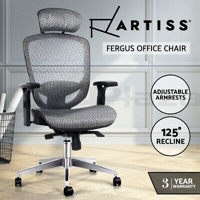 AU227.95 • Buy Artiss Office Chair Gaming Chair Computer Chairs Mesh Net Seating Grey