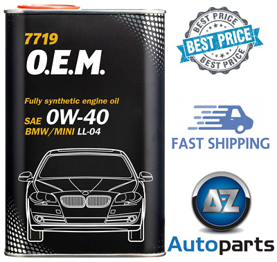 1L - 0W40 Engine Car Motor Oil BMW Mini Synthetic 7719 O.E.M Low Saps Longlife • 7.89£