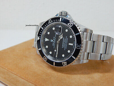 $ CDN11776.09 • Buy 2005 Rolex Stainless Steel Submariner Date 16610 Papers Mint No Holes Warranty
