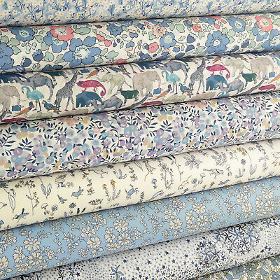 £4.25 • Buy Liberty Sweet Dreams Tana Lawn Fabric / Quilting Floral Pink Betsy Wiltshire