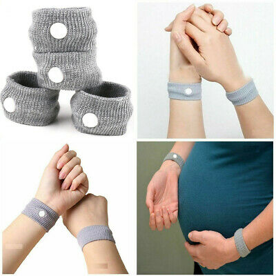 £2.85 • Buy Travel Sickness Bands Anti Nausea Bands Twin Pack Motion Sea Car Adult Children