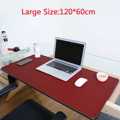 £20.39 • Buy Large Non Slip PU Leather Office Desk Protector Mat Mouse Laptop Pad 47x23.5in