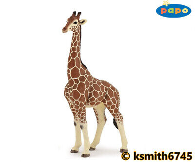 £8 • Buy Papo MALE GIRAFFE Solid Plastic Toy Wild Zoo African Animal  NEW 💥