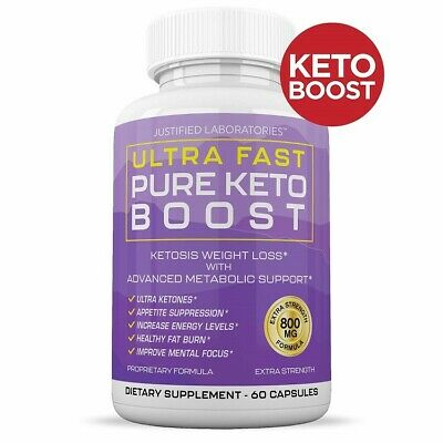 $22.45 • Buy Ultra Fast Keto Boost Advanced Weight Loss With Metabolic Ketosis Support 800mg