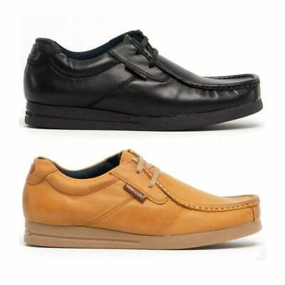 £56 • Buy Base London EVENT Mens Classic Genuine Leather Mocassin Lace Up Shoes
