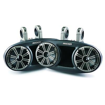 KICKER Marine Speakers Long-Throw System 6.5 Inch For Boat Tower / Wakeboarding • 599.99£